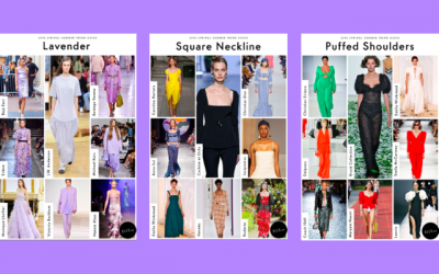 Fashion forecasting & Market trends